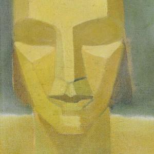 Kubistische kop - 1912 - Otto van Rees