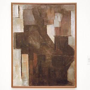 Piet-Mondriaan-Portret-van-een-Dame-Olieverf-op-doek-1912